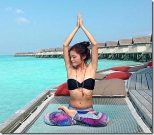 Centara Ras Fushi - Rosa Yogini yoga