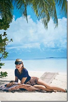 Cheval Blanc Randheli - Amber Anderson hat