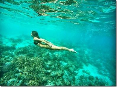Coco Bodu Hithi - Nastya Leskova underwater