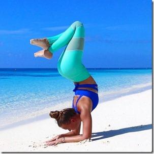 Four Seasons Landaa Giraavaru - Jessia Ollie yoga