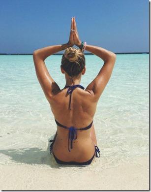 Halaveli - dive yoga