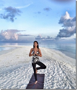 Loama Resort Maldives at Maamigili - Vivienne Tang yoga