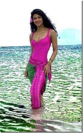 Nika - Priyanka Chopra social media
