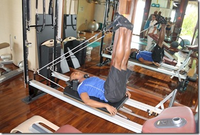 One and Only Reethi Rah pilates machine
