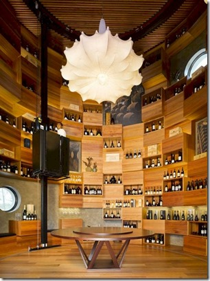 Velaa - tower wine cellar 2