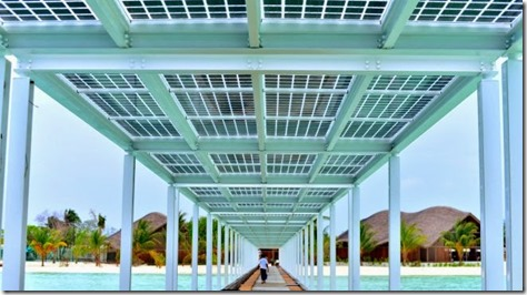 Club Med Finolhu - solar panels 1