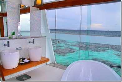 Kandolhu - over water villa bathroom 2