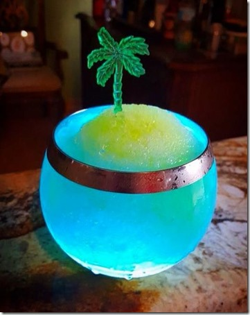 Paradise Island cocktail