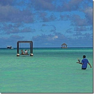 Taj Exotica - lagoon service