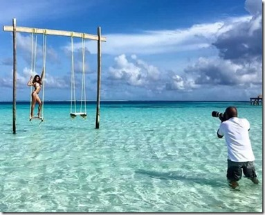 Photography in the Maldives
