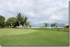 Shangri-La Villingili - golf course - hole 2 - green