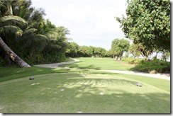 Shangri-La Villingili - golf course - hole 2 - tee view