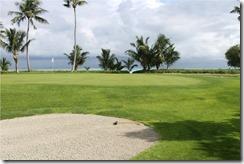Shangri-La Villingili - golf course - hole 3 - green