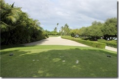 Shangri-La Villingili - golf course - hole 3 - tee view