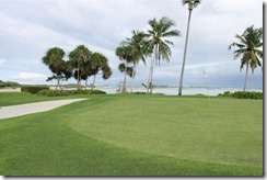 Shangri-La Villingili - golf course - hole 4 - green
