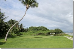 Shangri-La Villingili - golf course - hole 5 - green