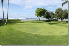 Shangri-La Villingili - golf course - hole 6 - green