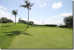 Shangri-La Villingili - golf course - hole 7 - green