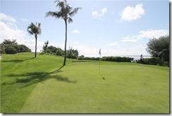 Shangri-La Villingili - golf course - hole 7 - green