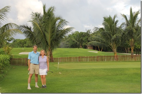 Shangri-La Villingili - golf course start