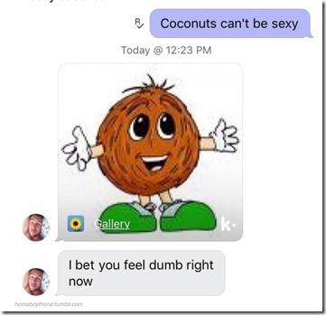 Sexy coconut