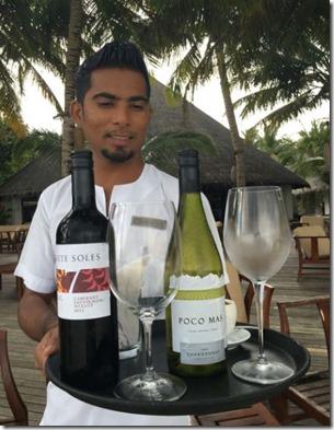 Sun Siyam Irufushi - Chile wine 2