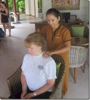 Anantara - greeting massage
