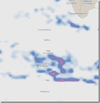 Interactive Weather Map – Dark Sky