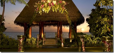 One & Only Reethi Rah wedding pavillion