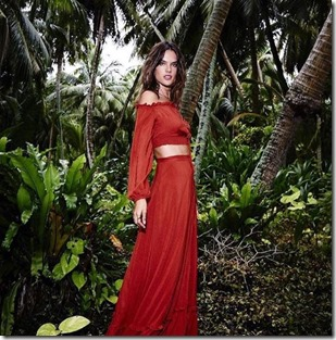 Alessandra Ambrosio (Brazil) - Shangri-La Vilingili