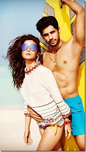 Aliaa Bhaat and Sidharth Malhotra (India) – Four Seasons Landaa Giraavaru