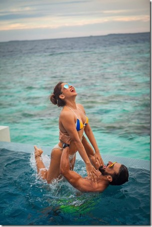 Ashish Chowdhry and Samita Bangargi (India) – Lily Beach