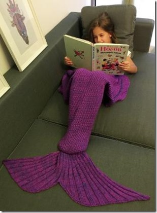 Not Seen - mermaid blanket