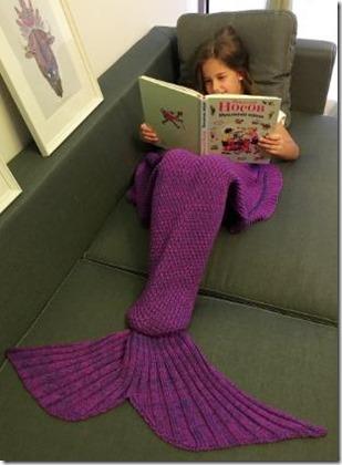 Not Seen - mermaid blanket