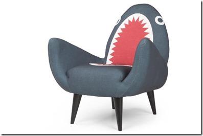 Not Seen - shark chair