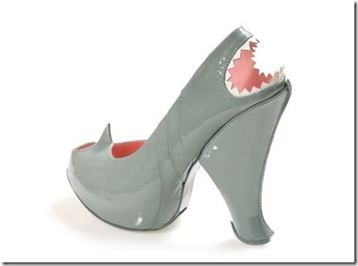 Not Seen - shark shoes