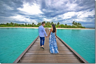 Sepideh Haftgoli and Max Loong (Switzerland) - Huvafenfushi