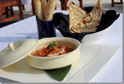 Taj Exotica - butter chicken