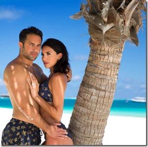 Ylianna and Michael Dadashi (USA) - Huvafenfushi
