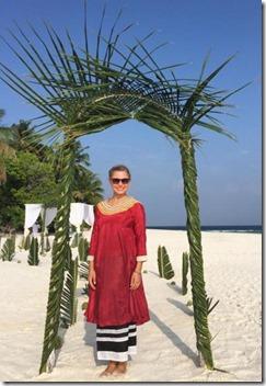 Embudu - palm arbor