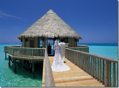 Gili Lankanfushi - wedding pavillion