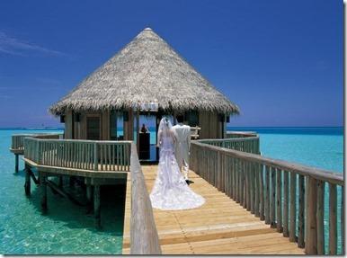 Gili Lankanfushi - wedding pavillion