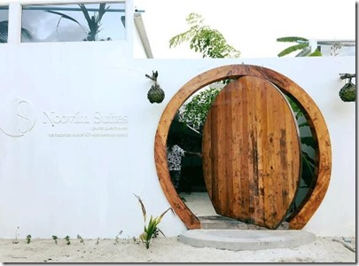 Noovilu Suites - round door