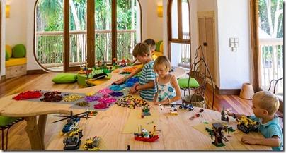 Soneva Fushi - lego room