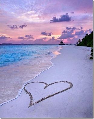 Anantara Kihavah - sand heart