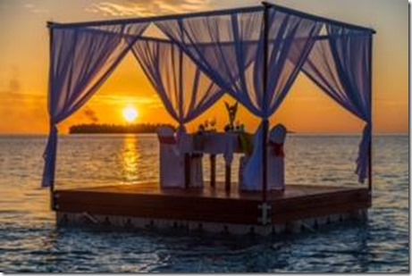 Angsana Velavaru - floating pavillion
