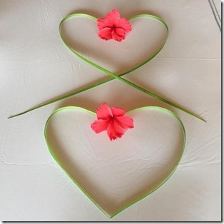 Coco Palm Dhuni Kolhu - heart bed decor