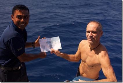 Outrigger Konotta - equatorial cruise 2