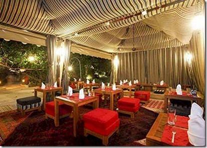 Centara Ras Fushi - bedouin dining 2