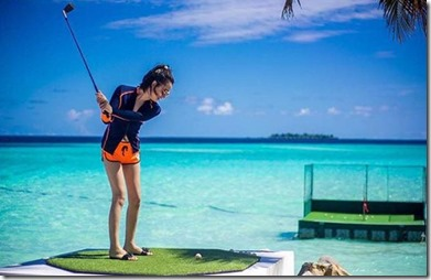 One and Only Reethi Rah - chipping green